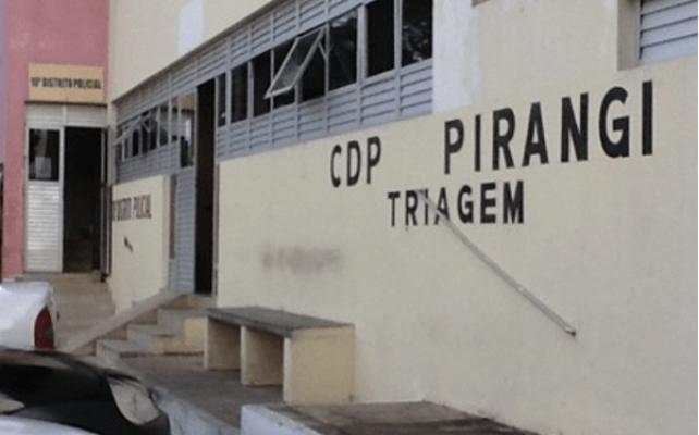 * Detentos serram grade e escapam do Centro de Detenção Provisória de Parnamirim.