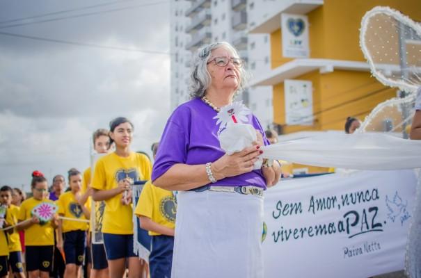 Resultado de imagem para Legião da Boa Vontade promove caminhada pela Paz na capital potiguar