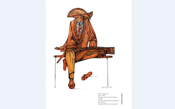 """07ad239ed O calendário 2019 da Galeria Sesc Cidade Alta começará com uma edição  especial: a exposição """"Do mar ao sertão"""", com obras do grande artista  potiguar Newton ..."""